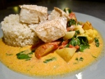 Halibut Curry